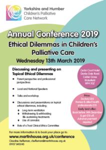 Paediatric Palliative Care Conference – Leeds Children's